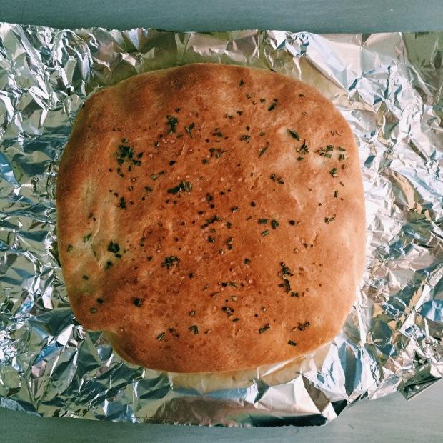 freshly baked.
