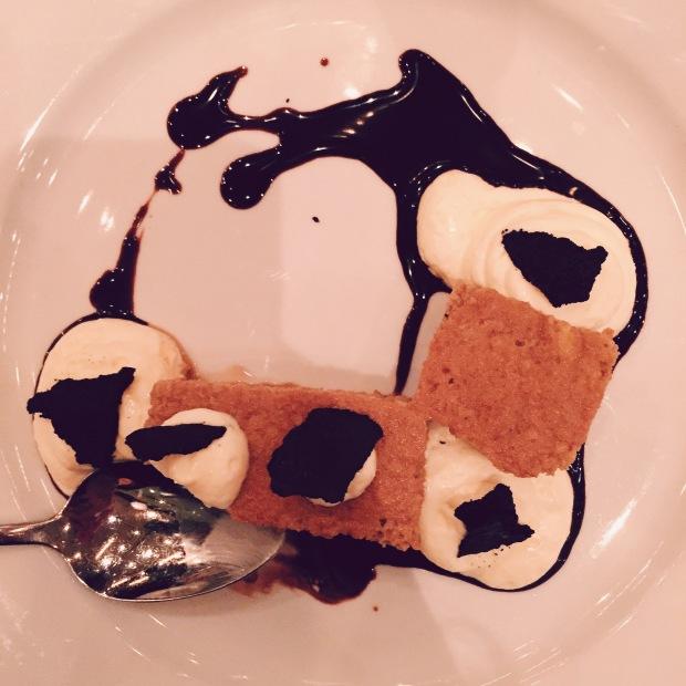 dessert at domenica, my first love.